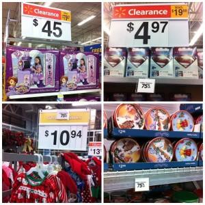 Walmart Christmas Clearance
