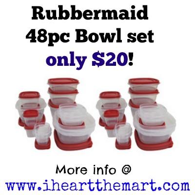 rubbermaid sets on walmart