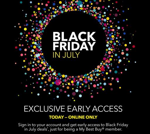 Best Buy Black Friday In July Deals