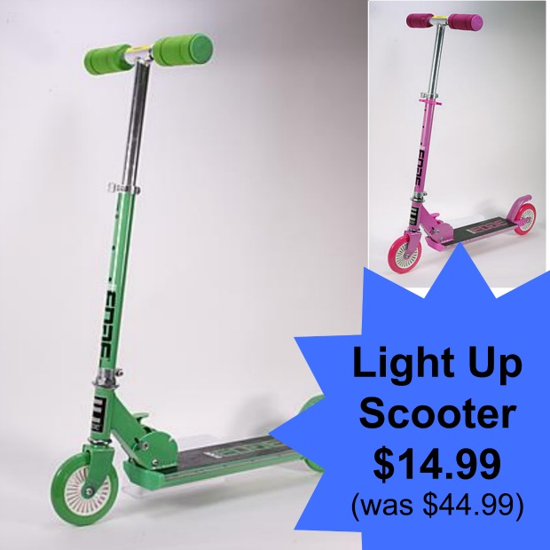 scooters 14.99 (was $44.99 Iheartthemart.com