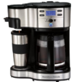 Hamilton Beach 2 Way Brewer: Full 12 Cups & Travel Mug for on the GO