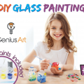 DIY Glass Painting – Arts and Crafts Kit for Kids only $30.99